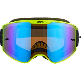 O'Neal B-20 Goggles Plain, zwart/blauw